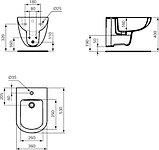 Биде подвесное Ideal Standard Tempo T510001, фото 3