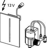 Кнопка смыва TECE filo urinal 9242054 230 V хром, фото 3