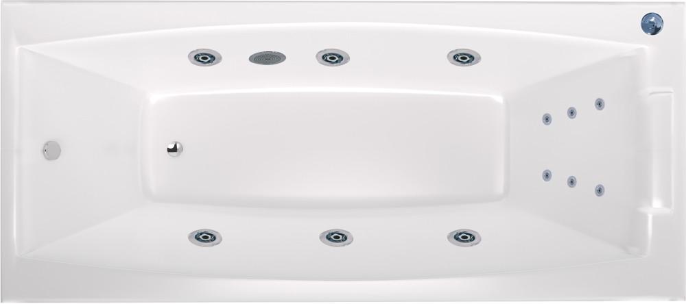 Акриловая ванна Marka One Aelita 01ае1880ГМст Стандарт, 180х80