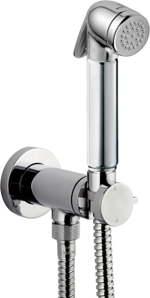 Гигиенический душ Bossini Talita E37006B.030 со смесителем, С ВНУТРЕННЕЙ ЧАСТЬЮ