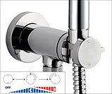 Гигиенический душ Bossini Talita E37006B.030 со смесителем, С ВНУТРЕННЕЙ ЧАСТЬЮ, фото 3