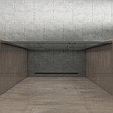 Душевая дверь в нишу Kubele DE019D3-MAT-MT 160 см, профиль матовый хром, фото 3