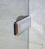 Шторка на ванну GuteWetter Trend Pearl GV-861A правая 80 см стекло бесцветное, фурнитура хром, фото 4