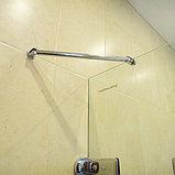 Шторка на ванну GuteWetter Trend Pearl GV-861A правая 80 см стекло бесцветное, фурнитура хром, фото 5
