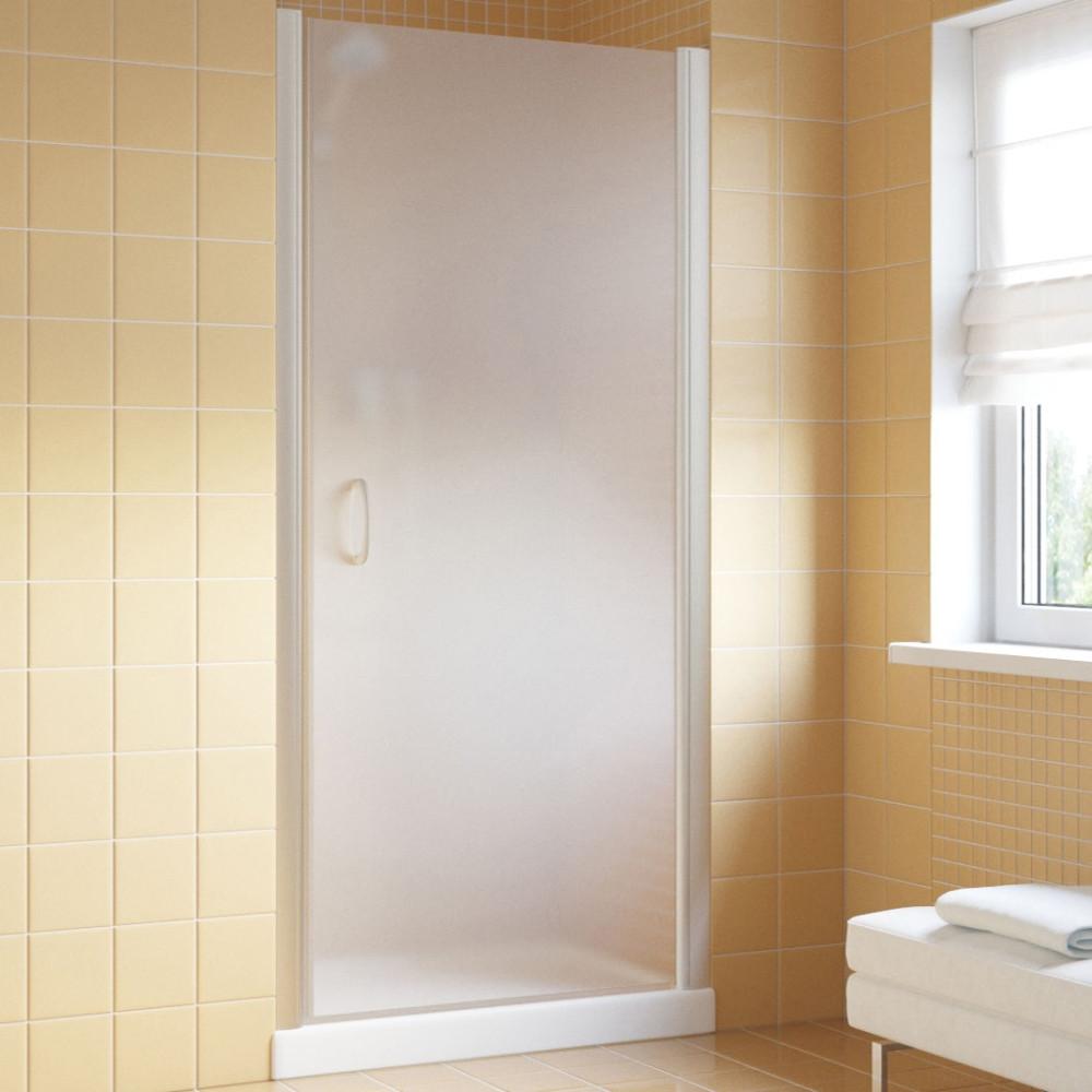Душевая дверь в нишу Vegas Glass EP Lux 70 07 10 R профиль матовый хром, стекло сатин