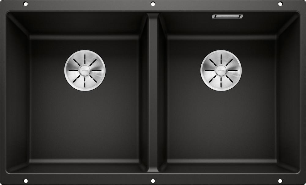 Мойка кухонная Blanco Subline 350/350-U черная