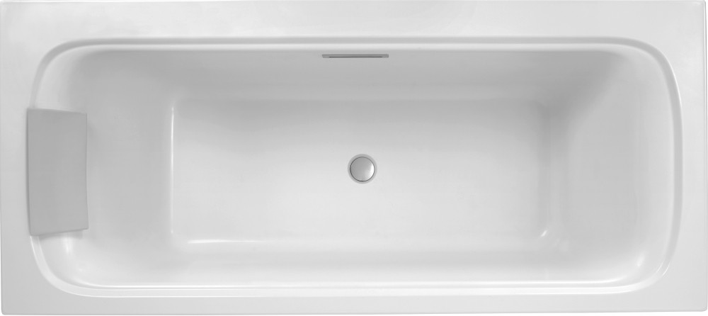Ванна из искусственного камня Jacob Delafon Elite 190x90 щелевой перелив