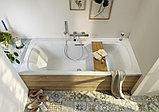 Ванна из искусственного камня Jacob Delafon Elite 190x90 щелевой перелив, фото 4