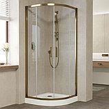 Душевой уголок Vegas Glass ZS 90 05 01 профиль бронза, стекло прозрачное, фото 2