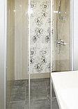 Душевая дверь в нишу GuteWetter Practic Door GK-403 133-137 см стекло бесцветное, профиль матовый хром, фото 4