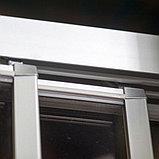 Душевая дверь в нишу GuteWetter Practic Door GK-403 133-137 см стекло бесцветное, профиль матовый хром, фото 6