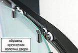 Душевой уголок Cezares Giubileo-R2-90 стекло с узором, бронза, фото 3