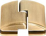 Душевая дверь в нишу Vegas Glass AFP 100 05 10 L профиль бронза, стекло сатин, фото 5