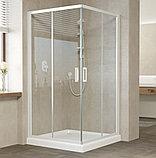 Душевой уголок Vegas Glass ZA 110 01 01 профиль белый, стекло прозрачное, фото 2