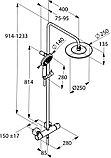 Душевая стойка Kludi Freshline dual shower system 6709205-00, фото 8