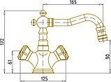 Смеситель Bronze de Luxe 10217 для биде, фото 3