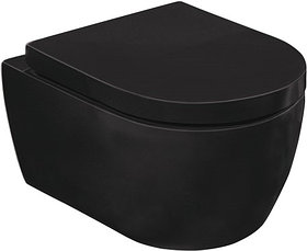 Унитаз подвесной SSWW CT2038V Black