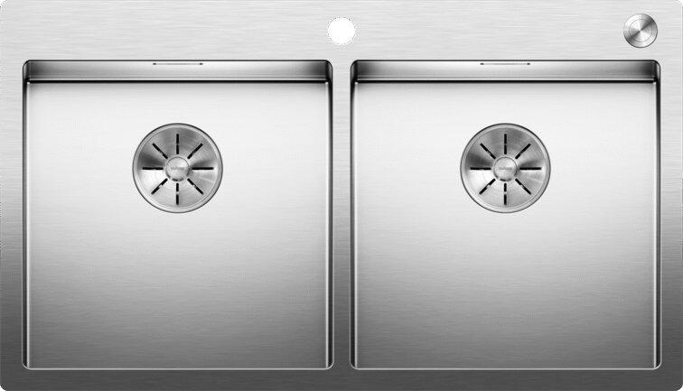Мойка кухонная Blanco Claron 400/400-IF/А клапан-автомат