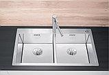 Мойка кухонная Blanco Claron 400/400-IF/А клапан-автомат, фото 2