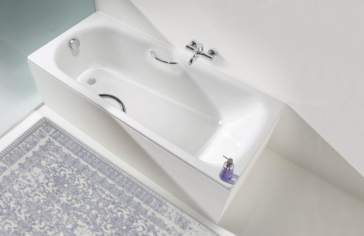 Стальная ванна Kaldewei Advantage Saniform Plus Star 337 с покрытием Easy-Clean
