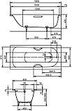 Стальная ванна Kaldewei Advantage Saniform Plus Star 337 с покрытием Easy-Clean, фото 5