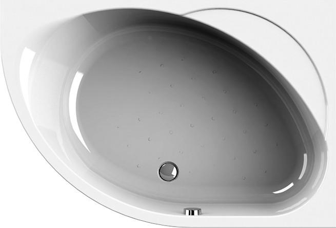 Акриловая ванна Radomir Мелани без гидромассажа, правая