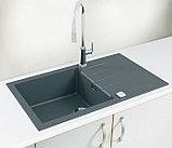 Мойка кухонная Alveus Cadit Granital 40 concrete, фото 2