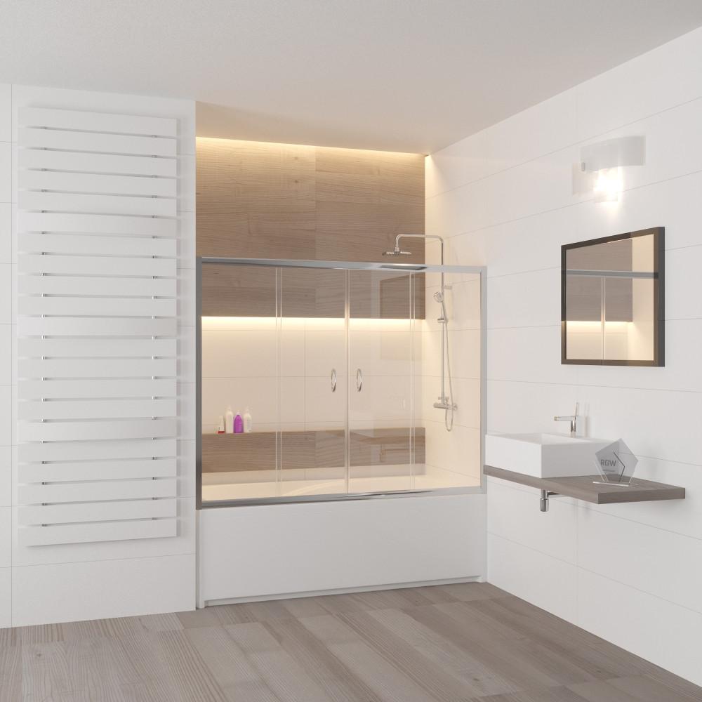 Шторка на ванну RGW Screens SC-61 1700x1500
