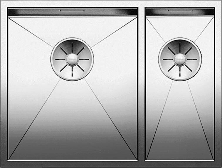 Мойка кухонная Blanco Zerox 340/180-IF L