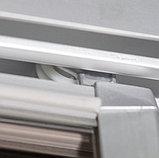 Душевая дверь в нишу GuteWetter Practic Door GK-403 98-102 см стекло бесцветное, профиль матовый хром, фото 5