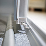 Душевая дверь в нишу GuteWetter Practic Door GK-403 98-102 см стекло бесцветное, профиль матовый хром, фото 8