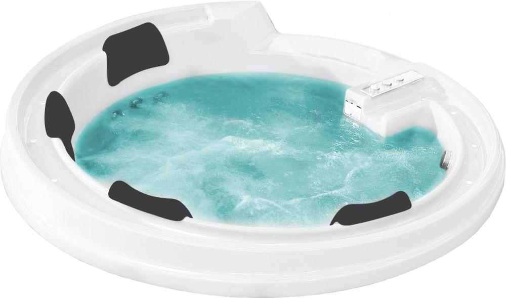 Акриловая ванна Gemy G9090 K White