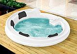 Акриловая ванна Gemy G9090 K White, фото 2