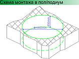 Акриловая ванна Gemy G9090 K White, фото 3