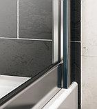 Душевая дверь в нишу Huppe X1 140703.069.321 распашная 90 см, фото 4