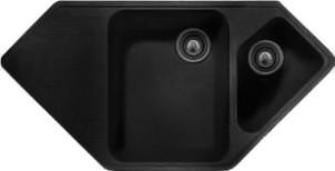 Мойка кухонная Whinstone Андора черный