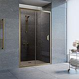 Душевая дверь в нишу Vegas Glass ZP 120 05 05 профиль бронза, стекло бронза, фото 2