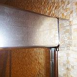 Шторка на ванну GuteWetter Slide Pearl GV-862 правая 95 см стекло бесцветное, профиль хром, фото 8