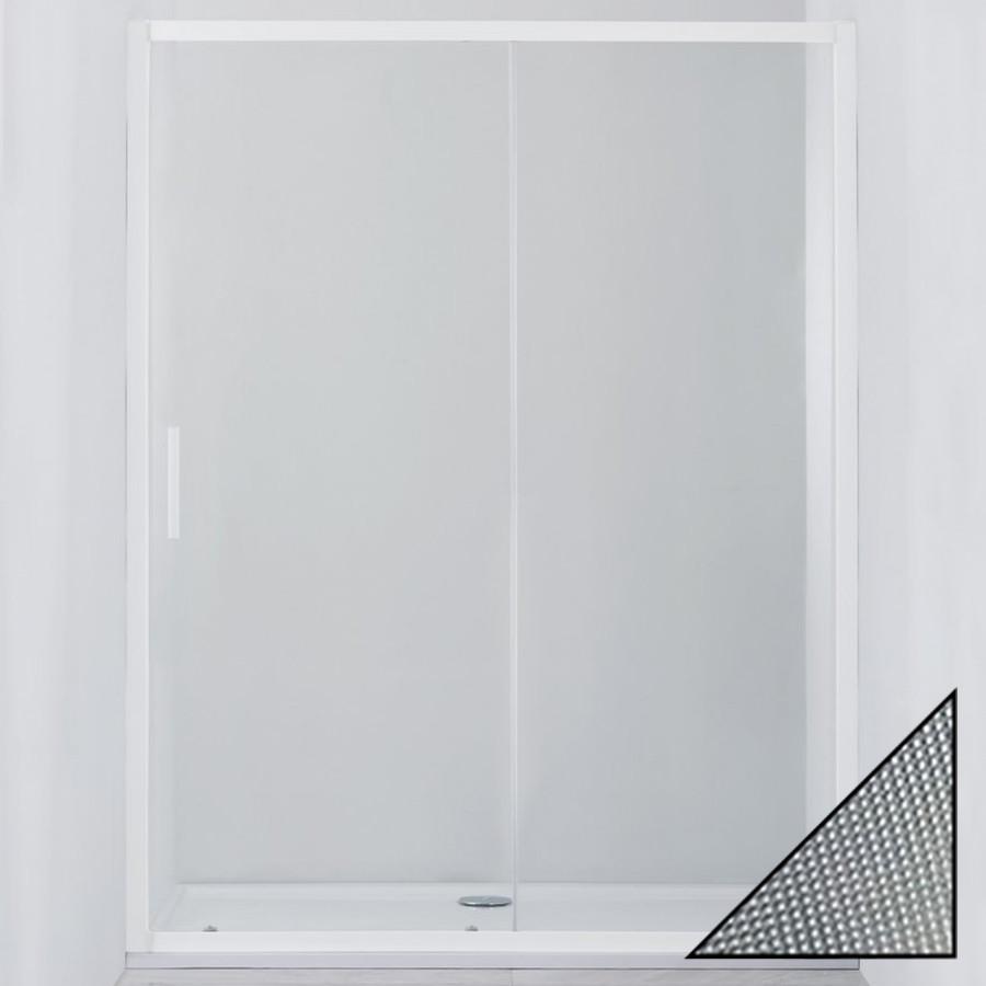 Душевая дверь в нишу Cezares Relax BF-1-120-P-Bi стекло punto