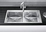 Мойка кухонная Blanco Zerox 400/400-IF/А клапан-автомат, фото 2