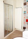 Душевая дверь в нишу GuteWetter Practic Door GK-403A правая 116-120 см стекло бесцветное, профиль матовый хром, фото 2