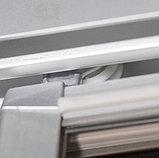 Душевая дверь в нишу GuteWetter Practic Door GK-403A правая 116-120 см стекло бесцветное, профиль матовый хром, фото 4