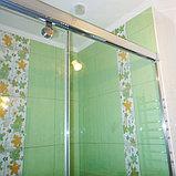 Душевая дверь в нишу GuteWetter Slide Door GK-862 правая 110 см стекло бесцветное, профиль хром, фото 5