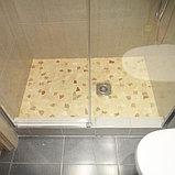 Душевая дверь в нишу GuteWetter Slide Door GK-862 правая 110 см стекло бесцветное, профиль хром, фото 6
