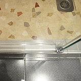 Душевая дверь в нишу GuteWetter Slide Door GK-862 правая 110 см стекло бесцветное, профиль хром, фото 8