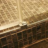 Душевая дверь в нишу GuteWetter Slide Door GK-862 правая 110 см стекло бесцветное, профиль хром, фото 9