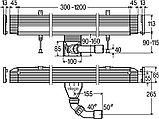 Душевой лоток Viega Advantix Vario 736552 30 - 120 см с решеткой, фото 8