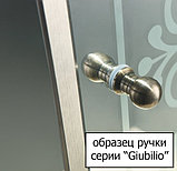 Душевой уголок Cezares Giubileo-A-2-100 прозрачное стекло, бронза, фото 3