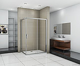 Душевой уголок Good Door Infinity WTW+SP-C-CH 110x90, фото 3