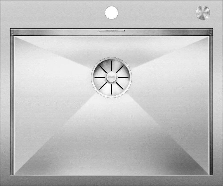 Мойка кухонная Blanco Zerox 550-IF/А клапан-автомат